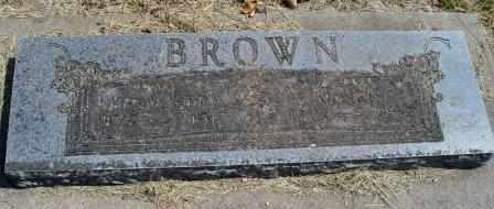 BROWN, MORRIS - Craig County, Oklahoma | MORRIS BROWN - Oklahoma Gravestone Photos