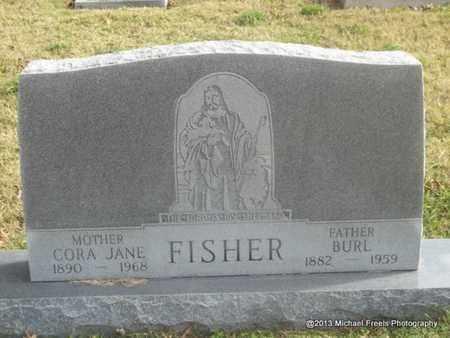 FISHER, CORA JANE - Craig County, Oklahoma | CORA JANE FISHER - Oklahoma Gravestone Photos