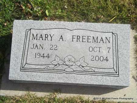FREEMAN, MARY A. - Craig County, Oklahoma | MARY A. FREEMAN - Oklahoma Gravestone Photos