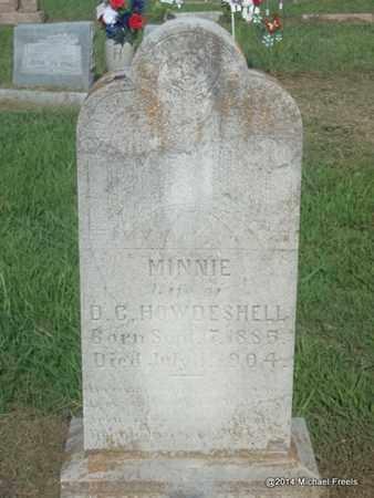 COHEA HOWDERSHELL, MINNIE - Craig County, Oklahoma | MINNIE COHEA HOWDERSHELL - Oklahoma Gravestone Photos