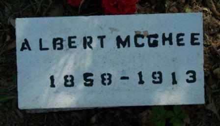 MCGHEE, ALBERT - Craig County, Oklahoma | ALBERT MCGHEE - Oklahoma Gravestone Photos
