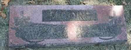 MOORE, ELIZABETH J - Craig County, Oklahoma | ELIZABETH J MOORE - Oklahoma Gravestone Photos