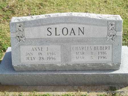 SLOAN, ANNE J - Craig County, Oklahoma   ANNE J SLOAN - Oklahoma Gravestone Photos