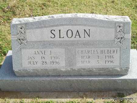 SLOAN, CHARLES HUBERT - Craig County, Oklahoma | CHARLES HUBERT SLOAN - Oklahoma Gravestone Photos