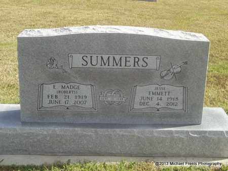 SUMMERS, E. MADGE - Craig County, Oklahoma | E. MADGE SUMMERS - Oklahoma Gravestone Photos