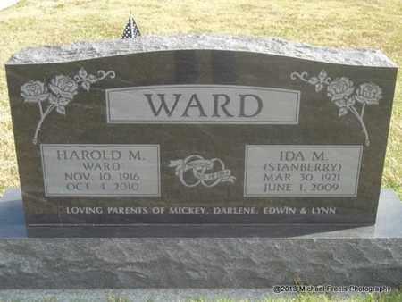 STANBERRY WARD, IDA M - Craig County, Oklahoma   IDA M STANBERRY WARD - Oklahoma Gravestone Photos