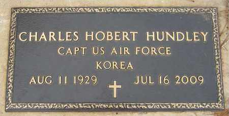 HUNDLEY (VETERAN), CHARLES HOBERT - Custer County, Oklahoma   CHARLES HOBERT HUNDLEY (VETERAN) - Oklahoma Gravestone Photos