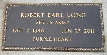 LONG (VETERAN), ROBERT EARL - Custer County, Oklahoma | ROBERT EARL LONG (VETERAN) - Oklahoma Gravestone Photos