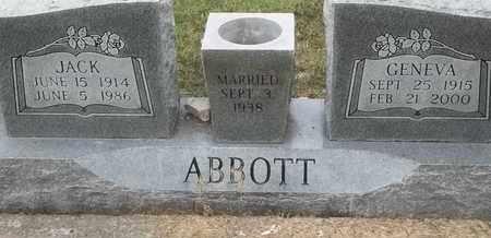 ABBOTT, JACK - Delaware County, Oklahoma   JACK ABBOTT - Oklahoma Gravestone Photos