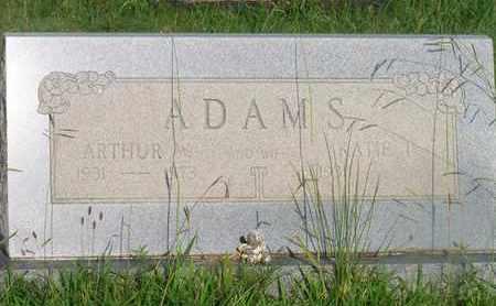 ADAMS, ARTHUR W - Delaware County, Oklahoma | ARTHUR W ADAMS - Oklahoma Gravestone Photos