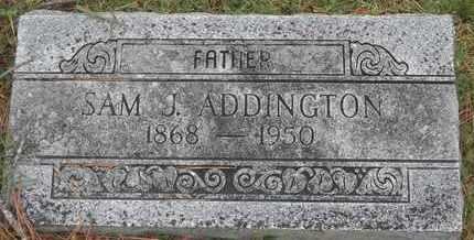 ADDINGTON, SAM J - Delaware County, Oklahoma | SAM J ADDINGTON - Oklahoma Gravestone Photos