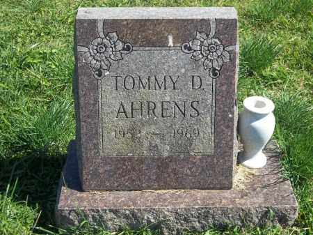AHRENS, TOMMY D - Delaware County, Oklahoma | TOMMY D AHRENS - Oklahoma Gravestone Photos