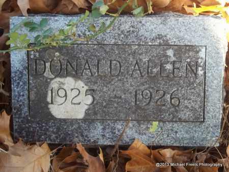 ALLEN, DONALD - Delaware County, Oklahoma   DONALD ALLEN - Oklahoma Gravestone Photos