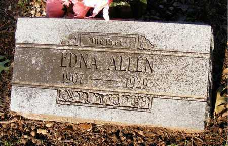 ALLEN, EDNA - Delaware County, Oklahoma | EDNA ALLEN - Oklahoma Gravestone Photos