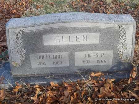 ALLEN, JULIA ANN - Delaware County, Oklahoma   JULIA ANN ALLEN - Oklahoma Gravestone Photos