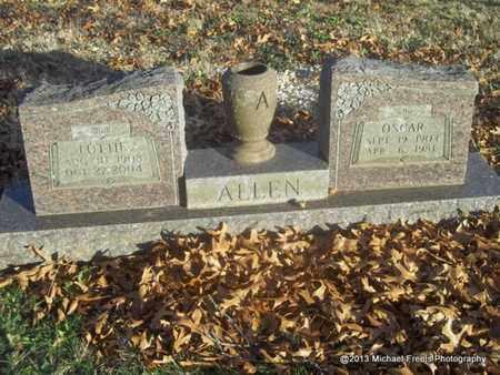 ALLEN, OSCAR - Delaware County, Oklahoma | OSCAR ALLEN - Oklahoma Gravestone Photos