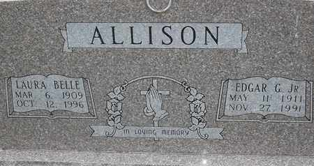 ALLISON, LAURA BELLE - Delaware County, Oklahoma | LAURA BELLE ALLISON - Oklahoma Gravestone Photos