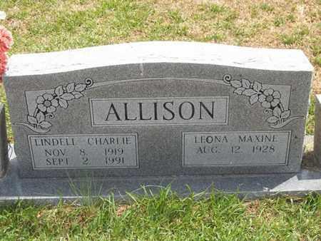 ALLISON, LINDELL CHARLIE - Delaware County, Oklahoma | LINDELL CHARLIE ALLISON - Oklahoma Gravestone Photos