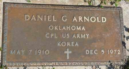 ARNOLD (VETERAN KOREA), DANIEL G - Delaware County, Oklahoma   DANIEL G ARNOLD (VETERAN KOREA) - Oklahoma Gravestone Photos