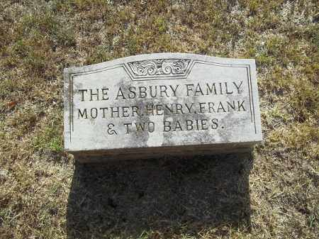 ASBURY, MOTHER - Delaware County, Oklahoma | MOTHER ASBURY - Oklahoma Gravestone Photos