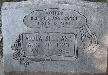 ASH, VIOLA BELL - Delaware County, Oklahoma | VIOLA BELL ASH - Oklahoma Gravestone Photos