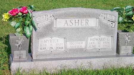 ASHER, MYRTLE - Delaware County, Oklahoma | MYRTLE ASHER - Oklahoma Gravestone Photos