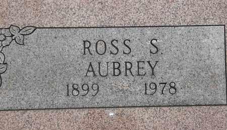 AUBREY, ROSS S - Delaware County, Oklahoma | ROSS S AUBREY - Oklahoma Gravestone Photos