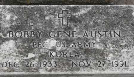 AUSTIN (VETERAN KOR), BOBBY GENE - Delaware County, Oklahoma   BOBBY GENE AUSTIN (VETERAN KOR) - Oklahoma Gravestone Photos