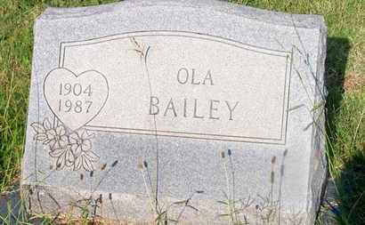BAILEY, OLA - Delaware County, Oklahoma   OLA BAILEY - Oklahoma Gravestone Photos