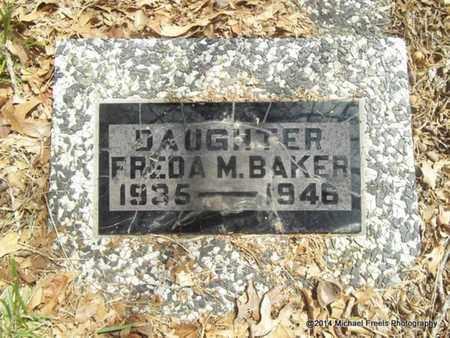 BAKER, FREDA M. - Delaware County, Oklahoma | FREDA M. BAKER - Oklahoma Gravestone Photos