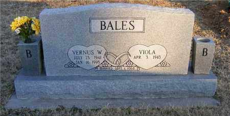 BALES, VERNUS WELDON - Delaware County, Oklahoma | VERNUS WELDON BALES - Oklahoma Gravestone Photos