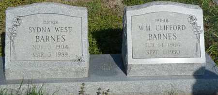 BARNES, WILLIAM CLIFFORD - Delaware County, Oklahoma   WILLIAM CLIFFORD BARNES - Oklahoma Gravestone Photos