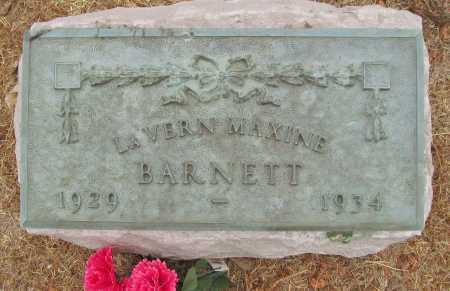 BARNETT, LAVERN MAXINE - Delaware County, Oklahoma | LAVERN MAXINE BARNETT - Oklahoma Gravestone Photos