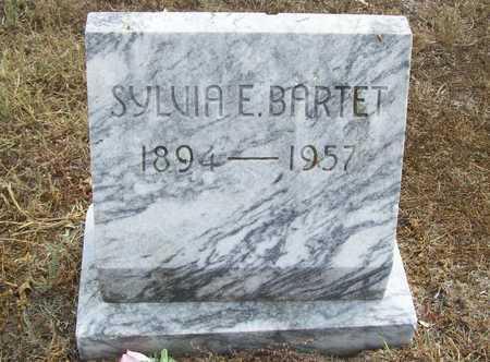 BARTET, SYLVIA E. - Delaware County, Oklahoma | SYLVIA E. BARTET - Oklahoma Gravestone Photos