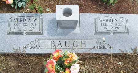 BAUGH, WARREN R. - Delaware County, Oklahoma | WARREN R. BAUGH - Oklahoma Gravestone Photos