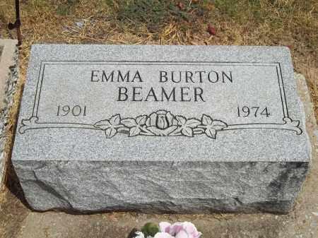 BEAMER, EMMA - Delaware County, Oklahoma | EMMA BEAMER - Oklahoma Gravestone Photos