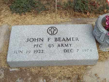 BEAMER (VETERAN), JOHN F - Delaware County, Oklahoma | JOHN F BEAMER (VETERAN) - Oklahoma Gravestone Photos