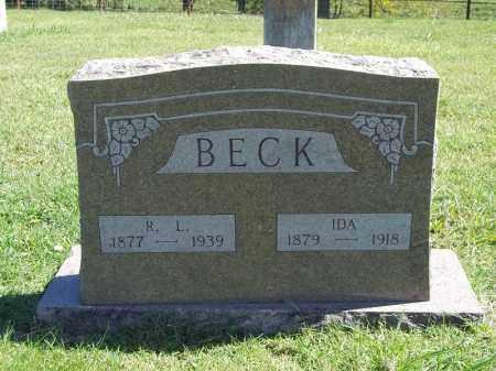 BECK, IDA - Delaware County, Oklahoma | IDA BECK - Oklahoma Gravestone Photos