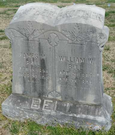 BELL, WILLIAM W - Delaware County, Oklahoma | WILLIAM W BELL - Oklahoma Gravestone Photos