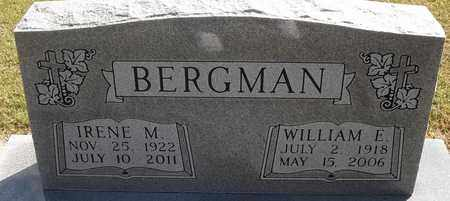 BERGMAN, WILLIAM E - Delaware County, Oklahoma | WILLIAM E BERGMAN - Oklahoma Gravestone Photos