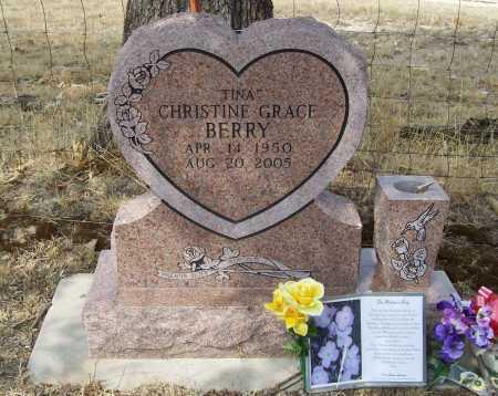 "BERRY, CHRISTINE GRACE ""TINA"" - Delaware County, Oklahoma | CHRISTINE GRACE ""TINA"" BERRY - Oklahoma Gravestone Photos"