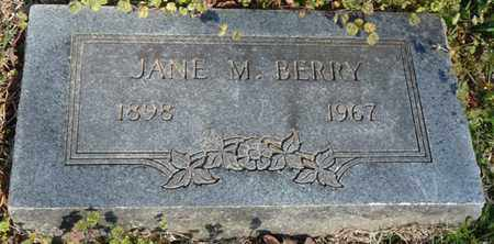 BERRY, JANE M - Delaware County, Oklahoma | JANE M BERRY - Oklahoma Gravestone Photos