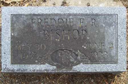 BISHOP, FREDDIE F.R. - Delaware County, Oklahoma | FREDDIE F.R. BISHOP - Oklahoma Gravestone Photos
