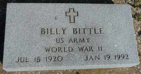 BITTLE (VETERAN WWII), BILLY - Delaware County, Oklahoma | BILLY BITTLE (VETERAN WWII) - Oklahoma Gravestone Photos