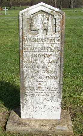 BLACKBURN, JR., WASHINGTON W. - Delaware County, Oklahoma | WASHINGTON W. BLACKBURN, JR. - Oklahoma Gravestone Photos