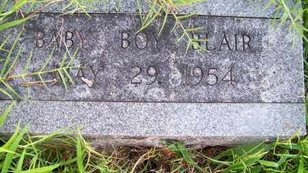 BLAIR, INFANT SON - Delaware County, Oklahoma | INFANT SON BLAIR - Oklahoma Gravestone Photos
