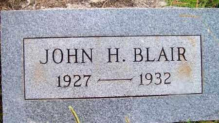 BLAIR, JOHN H - Delaware County, Oklahoma | JOHN H BLAIR - Oklahoma Gravestone Photos