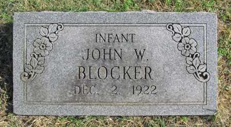 BLOCKER, JOHN W - Delaware County, Oklahoma   JOHN W BLOCKER - Oklahoma Gravestone Photos