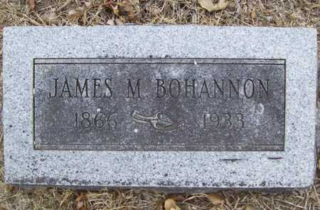 BOHANNON, JAMES M. - Delaware County, Oklahoma | JAMES M. BOHANNON - Oklahoma Gravestone Photos