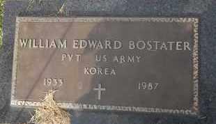BOSTATER (VETERAN KOR), WILLIAM EDWARD - Delaware County, Oklahoma | WILLIAM EDWARD BOSTATER (VETERAN KOR) - Oklahoma Gravestone Photos